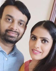 Jyoti Taneja Bhasin with her husband