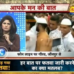 Kumkum Binwal in the News show Aapke Mann Ki Baat