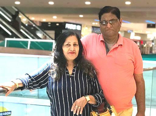 Kumkum Binwal parents