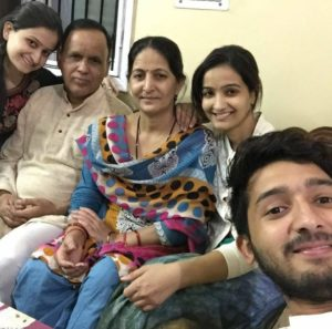 Meenakshi Kandwal family