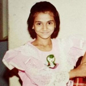 Naina Yadav childhood image