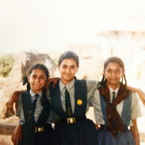 Naina Yadav school pic