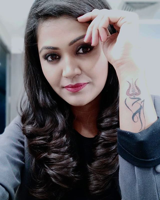 Naina Yadav tattoo