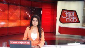 Priyanka Sharma Aaj Tak