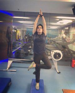 Priyanka Sharma is a fitness freak