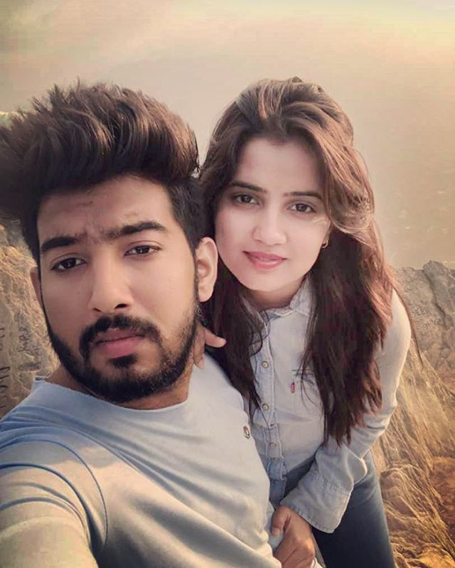 Priyanka Sharma with her brother