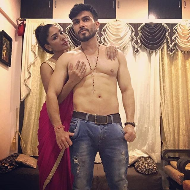 Sharanya Jit Kaur with her boyfriend