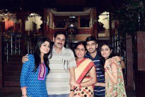 Suneeta Rai with her family