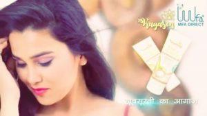 Anushka Sharma as model