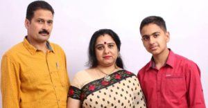 Arushi Handa family