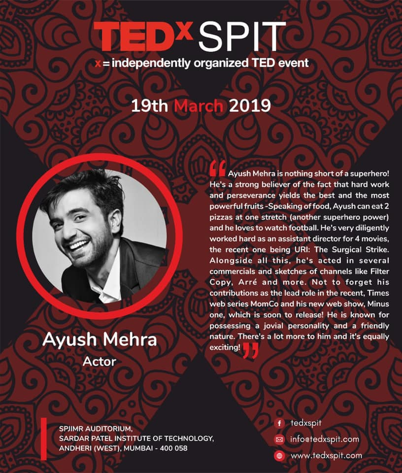 Ayush Mehra TED TALK