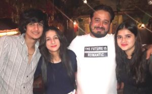 Bhavin Bhanushali with his family
