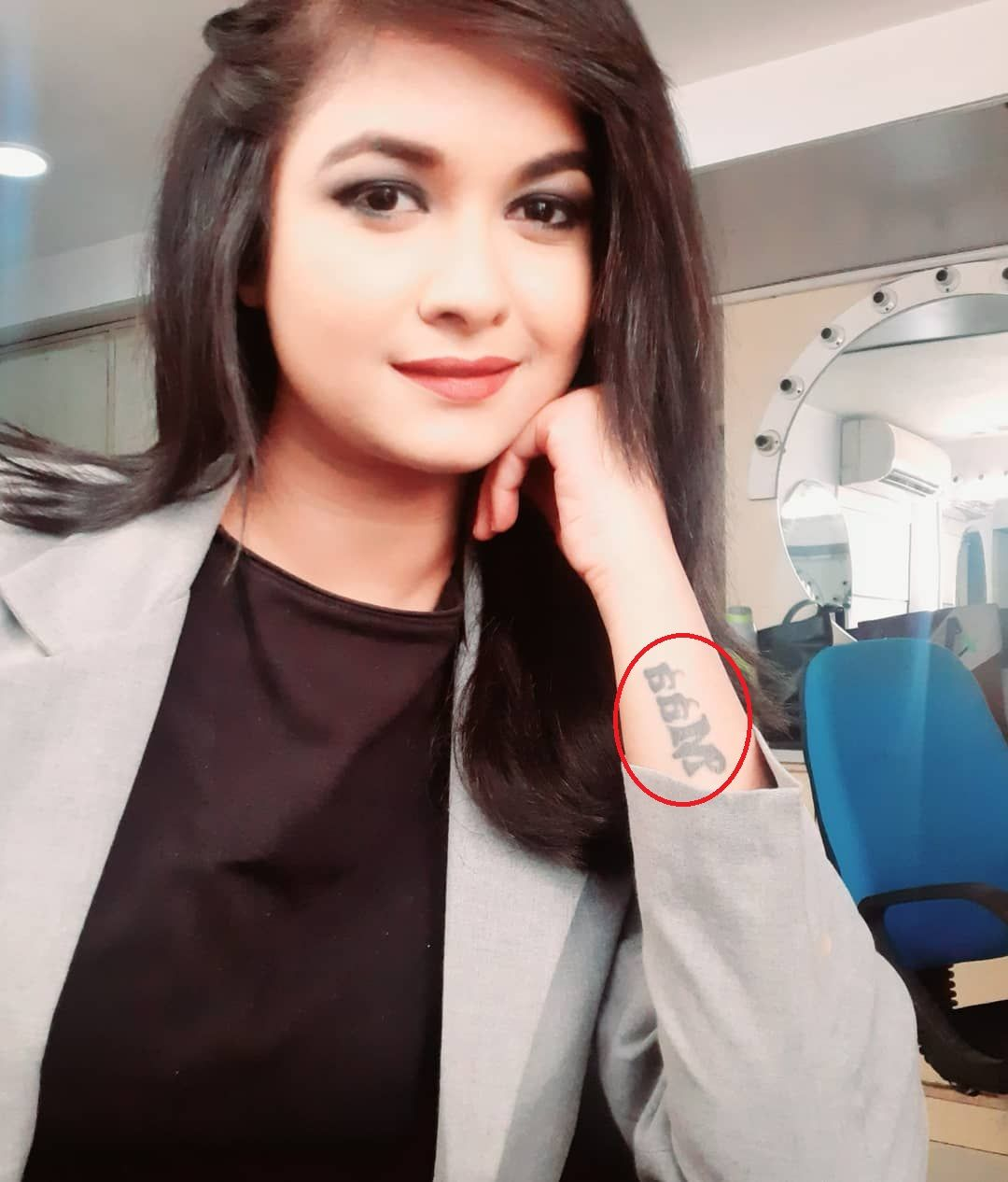 Deepika Yadav tattoo
