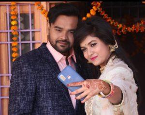 Deepika Yadav with her brother
