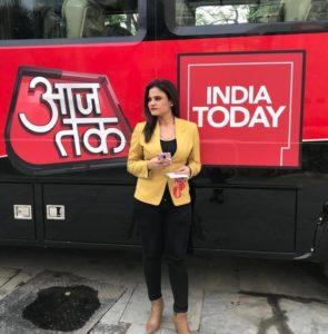 Nida Ahmad Aaj Tak