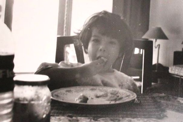 Niharika Lyra Dutt childhood image