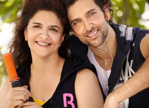 Pinky Roshan with her son
