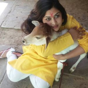 Prachi Devi is an avid animal lover