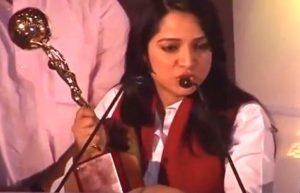 Preeti Raghunandan with her award