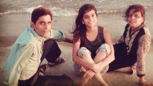 Preksha Mehta with her family