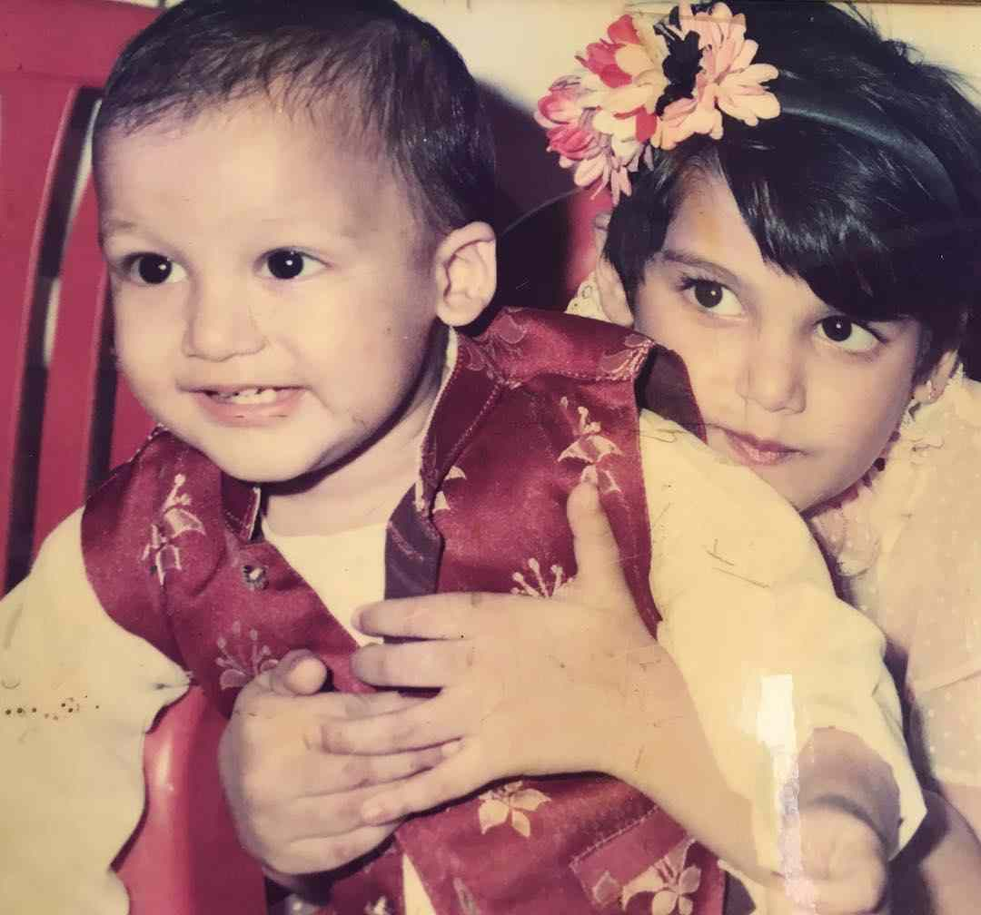 Sanah Kapoor with her brother Ruhaan Kapoor