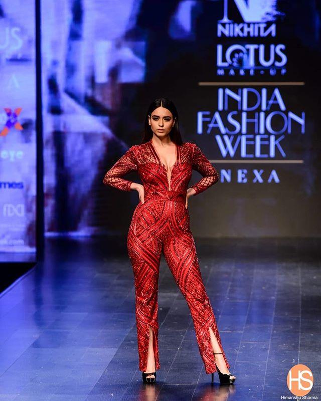 Soundarya Sharma as model