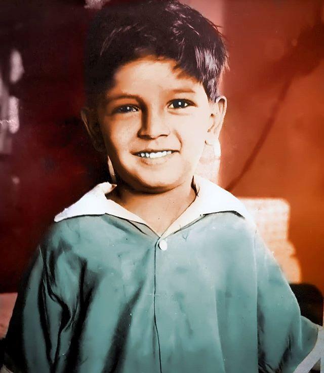Sunil Lahri childhood pic