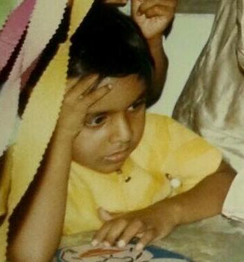 Sushant Sinha childhood