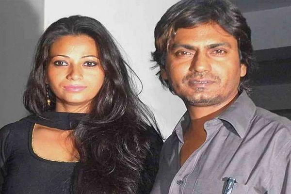 Aaliya Siddiqui with her husband