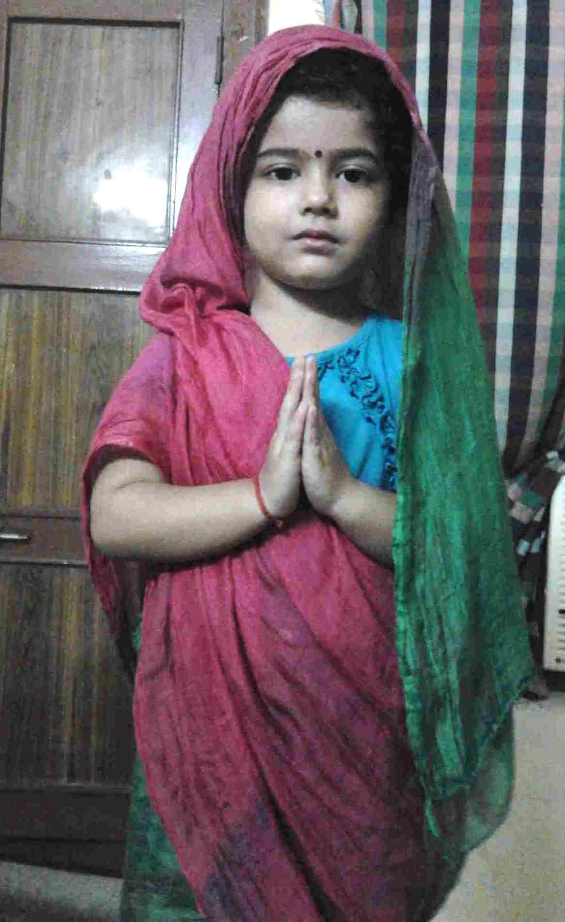Ananya Dwivedi childhood image