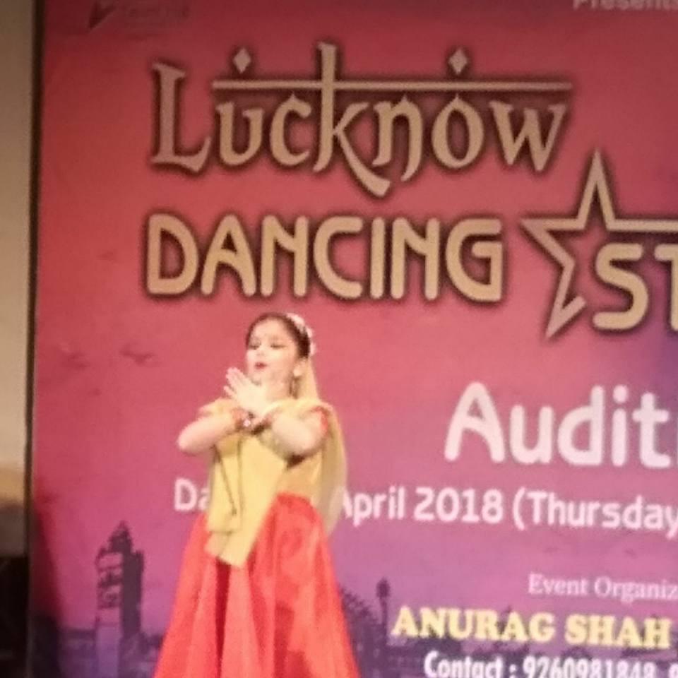 Ananya Dwivedi in Lucknow Dance Star