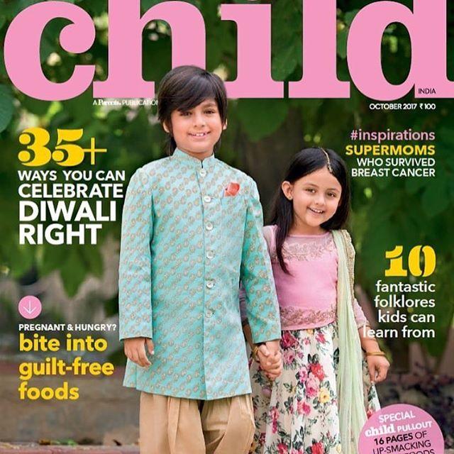Ivana Kaur Child India Magazine