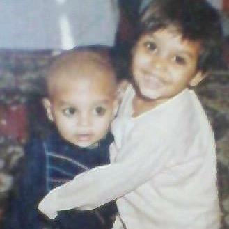 Nidhi Mahawan childhood image