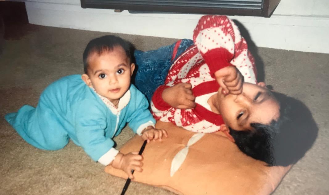 Nisha Mavani childhood pic