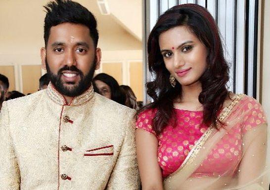 Nisha Mavani with her brother