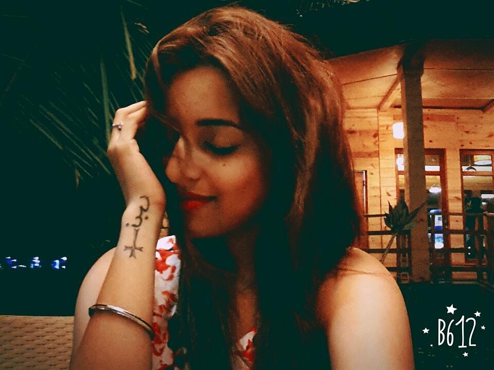 Pamela Mondal tattoo