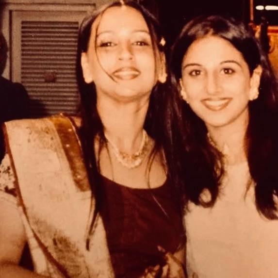 Priya Balan with her sister