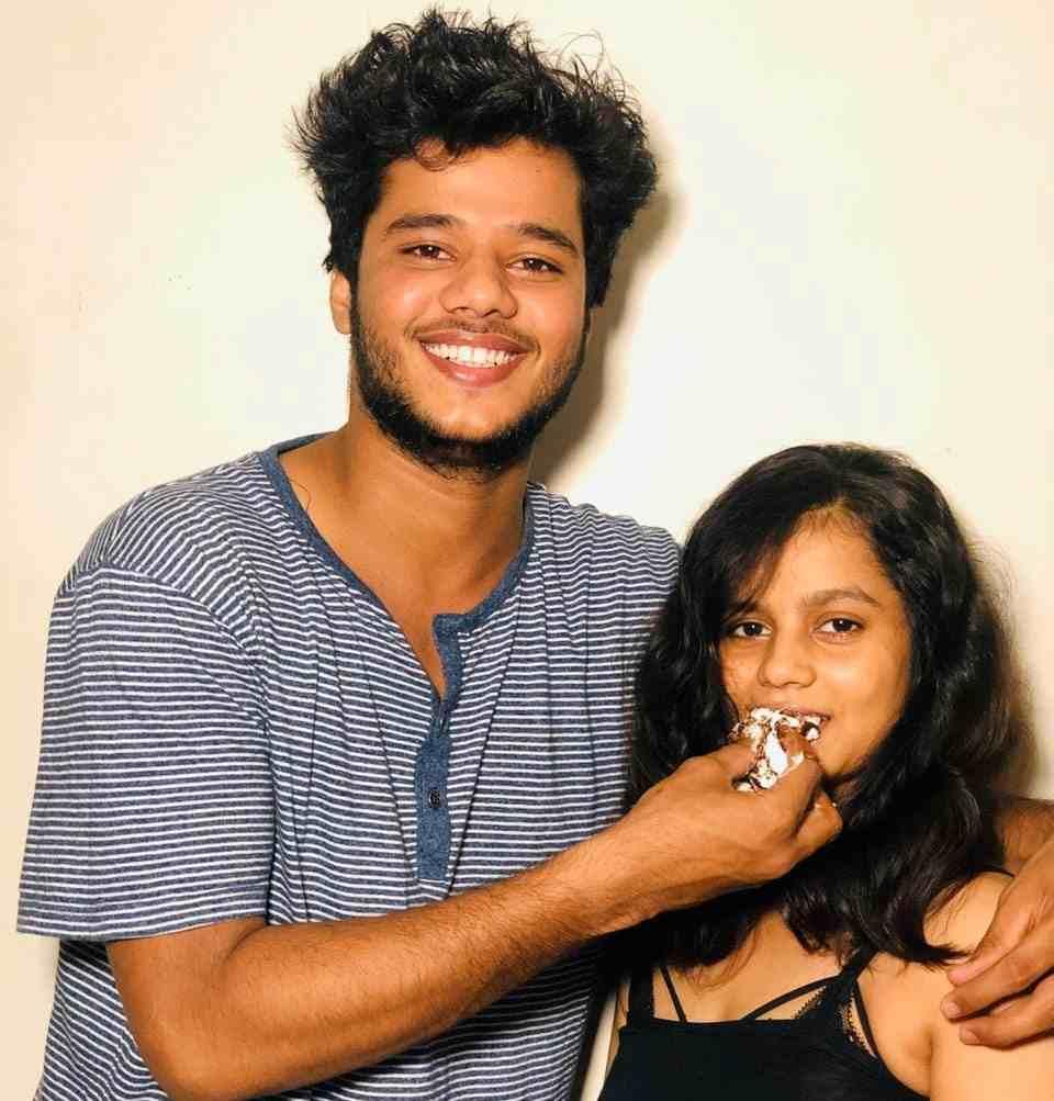 Priyanka Upadhyay brother and sister