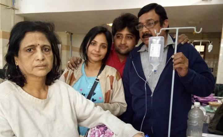 Rajsi Verma family