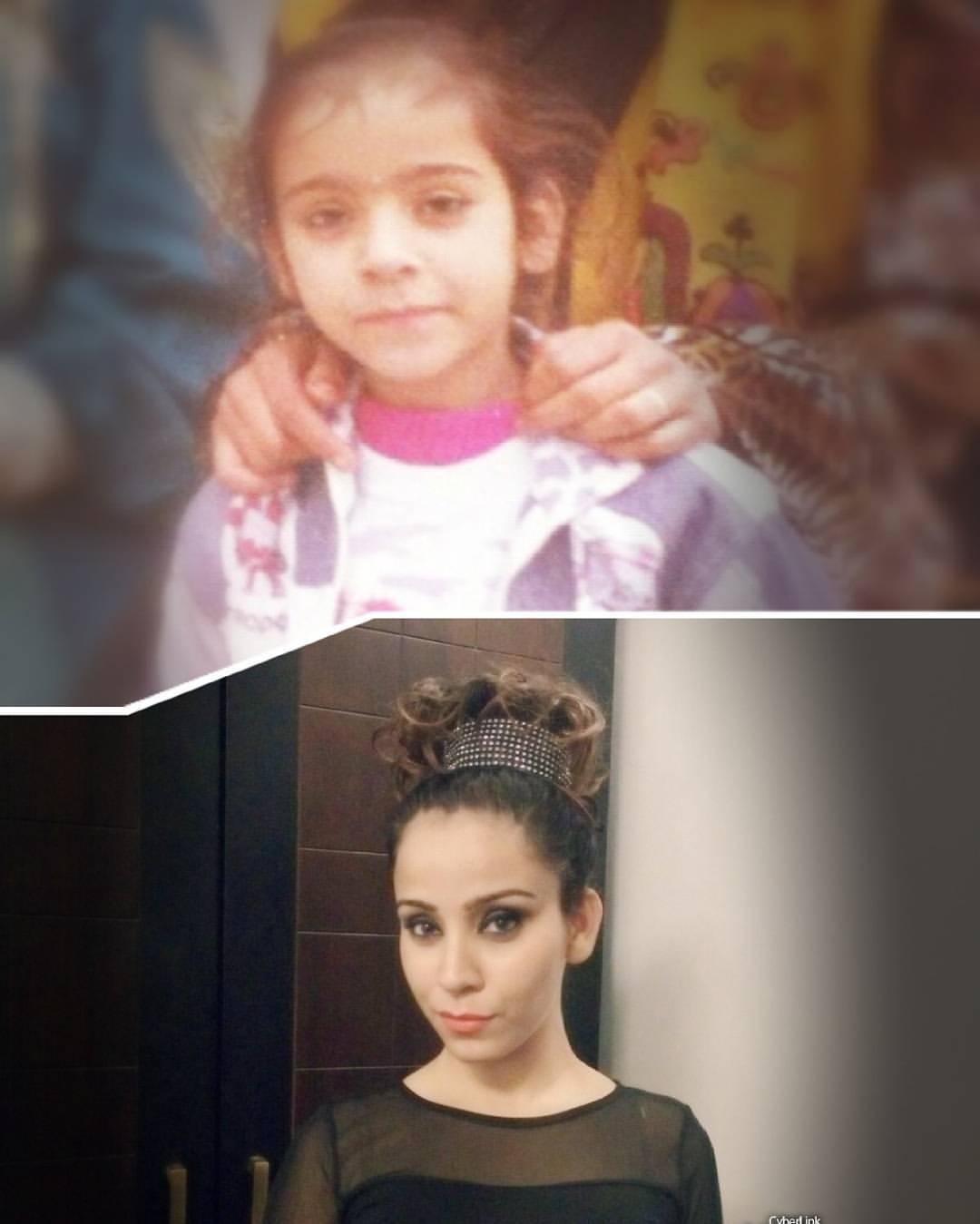 Ruby Bharaj childhood pic