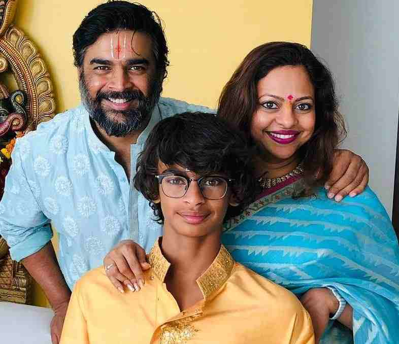 Sarita Birje with her family
