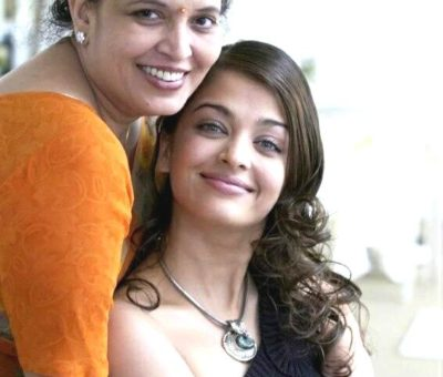 Vrinda Rai with her daughter