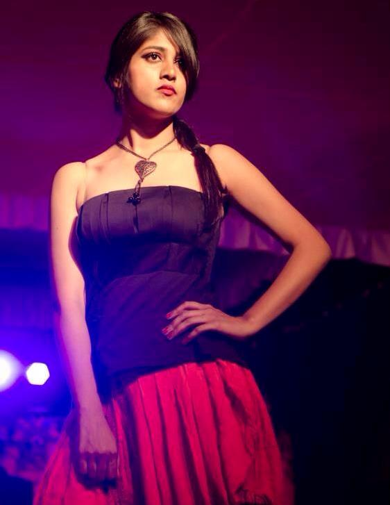 Chandini Chowdary as a model