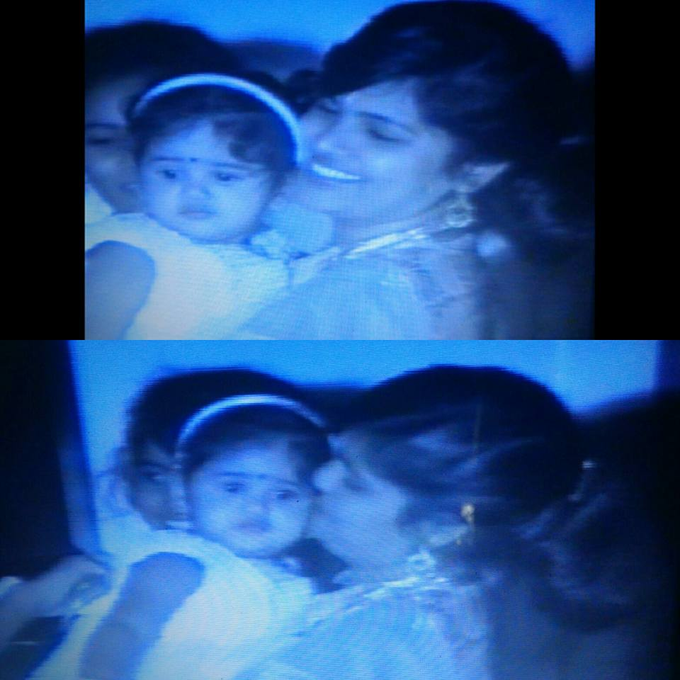 Chandini Chowdary childhood image