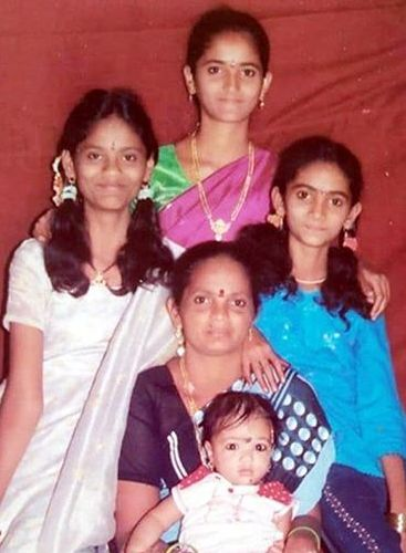 Jordar Sujatha with her family