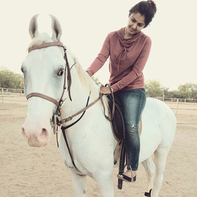 Monal Gajjar is a Animal lover
