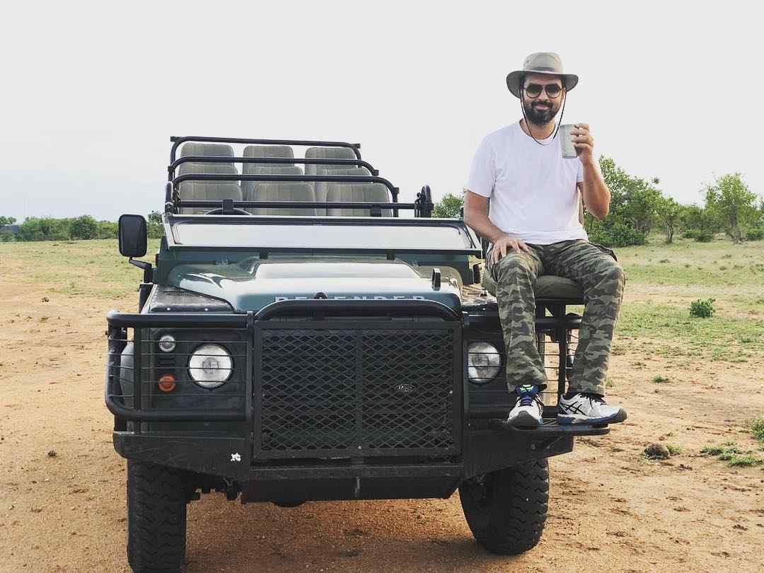 Gautam Kitchlu in South Africa