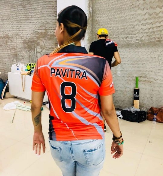 Pavitra Punia in Box Cricket League