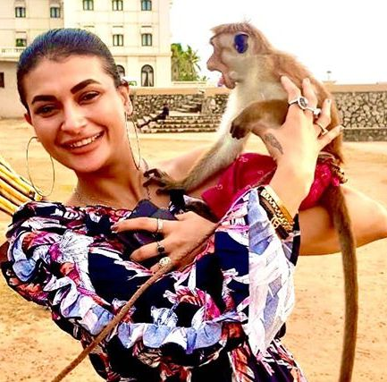 Pavitra Punia is an animal lover
