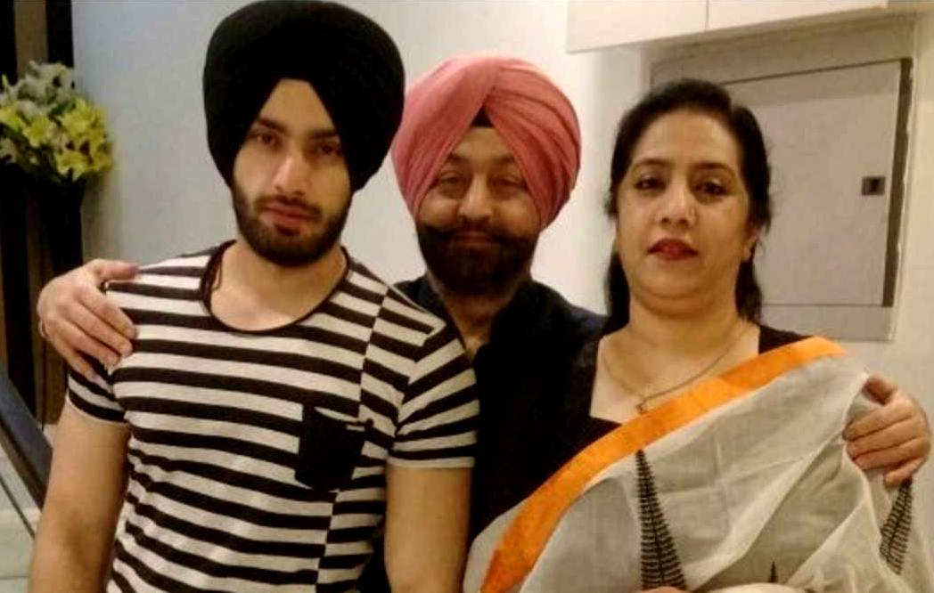Shehzad Deol with his Parents